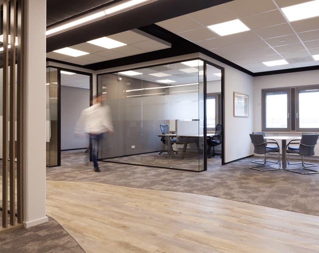 Glasfolie in een goed interieurplan
