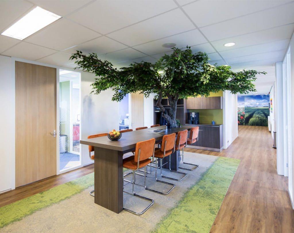 interieurarchitect voor kantoor